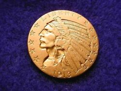 1913 Us 5 Gold Indian Half Eagle Superior Gold Coin 112