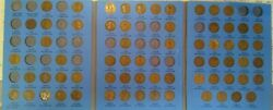 66 Coin Set 1909-1940 Lincoln Wheat Penny Cent - Early Dates Collection  216