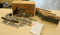 Vintage Stanley No.45 Planer W/ Original Box + 3 Boxes Cutters Look Free Ship