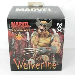 Marvel Zombies Wolverine Bust Statue Max Universe Limited Edition 748/1000