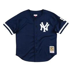 Authentic Mitchell And Ness Mariano Rivera 1999 New York Yankees Bp Jersey Size Xl