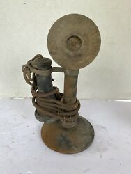 Vintage Connecticut Telephone amp; Electric Co. Candlestick Phone