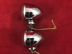 Backup Reverse Lights/lamps Harley Indian Chevy Gm Accessory