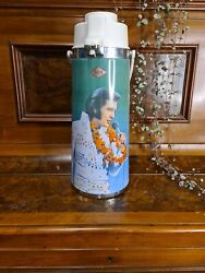 Extremely Rare Elvis Presley King Of Rock Airpot Vintage Never Used Perfect...