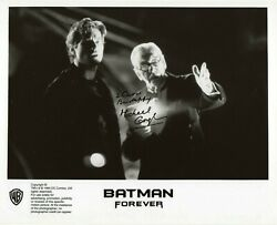 Michael Gough-batman Movies Alfred, Dr. Who, The Cybernauts Signed 8x10 Photo