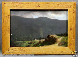 John Bunyan Bristol American Oil Painting Mountain Landscape With Hills And Trees