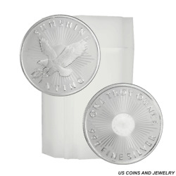 Roll of Generic 1 Troy oz .999 Fine Silver Random Mint amp; Design 20 Rounds $689.99