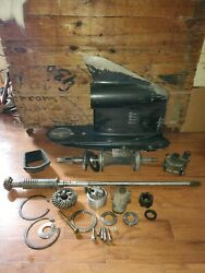 91' Johnson Evinrude 150hp Lower Housing Unit Case Outboard Gears Shifter Clutch