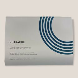 Nutrafol Menand039s Hair Growth Supplement- 3x120 New Sealed Exp 9/22 W/o Box