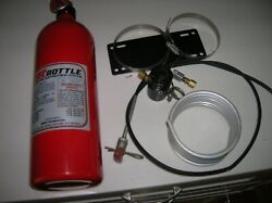 Halon Fire Suppression System 13217 5lbs Bottle And Attachments