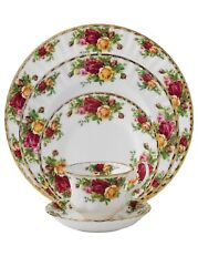 New Royal Albert Old Country Roses 5 Piece Place Setting S - New In Box