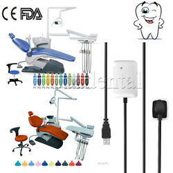 Dental Chair Hard Leather Computer Controlled Unit Compensate Wider/x-ray Sensor