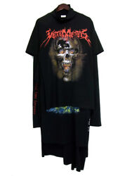 Vetements 16aw Skull Layered T-shirts Dress Wf17dr4 Scull Reconstruction T-shirt