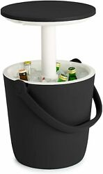 Portable Pop Up Table Cooler Beer Bucket Wine Soda Beach Pool Patio Ice Chest