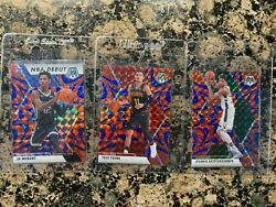 2019 Panini Mosaic Lot Of 6 Cards Ja Morant Rookie Giannisyoungiverson