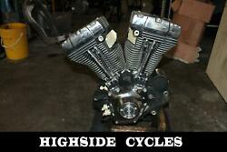 1013 02 Harley-davidson Softail Engine B Motor Twin Cam Carb 88ci