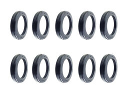 Premium Wheel Seal For Steer Axle Replace Stemco 383-0236 Skf 35058 Pack Of 10