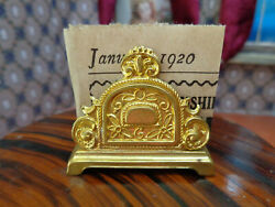 Antique Gilt Ormolu Doll House Toy Erhard And Sons Erhard And Sohne