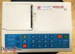 Schiller At-1 Ecg Ekg With Leads And Clips