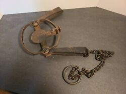 Vintage S. Newhouse Oneida No. 4 - Metal Trap