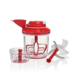 Tupperware Power Chef Premium System Red New In Box