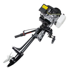 4stroke 3.6 Hp Outboard Motor 55cc Boat Engine Air Cooling System Heavy Duty Usa