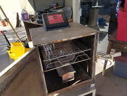 Cookshack Model Sm025 Electric Smoker Made In Usa Bbq Stainless Steel