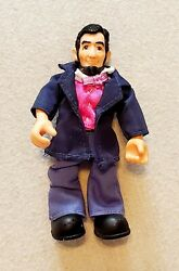 President Abraham Lincoln Posable Action Figure Toy Doll W Cloth Outfit