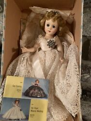 Vintage Nancy Ann Style Show Doll Her Majesty The Queen 1950's Nasb Hard Plastic