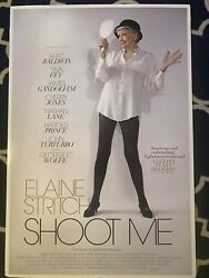 Poster Elaine Stritch Shoot Me - Backed On Foam-board. Rare From Opening Night.