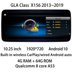 Car Multimedia Gps Radio Navigation Dvd Android For Mercedes Benz Gla Class X156