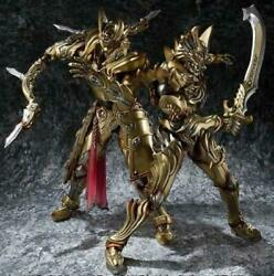 Magical Commandable Flame Blade Knight Zen And Tengu Knight Guy Gold Ver. Set