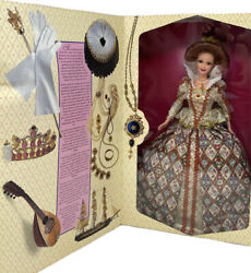 Elizabethan Queen Barbie Doll The Great Eras Collectioncollector Edition