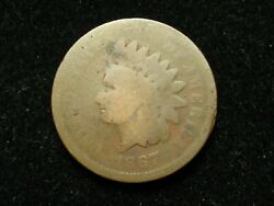 New Inventory Sale 1867 Indian Head Cent Penny U.s. Collectible Coin 26p