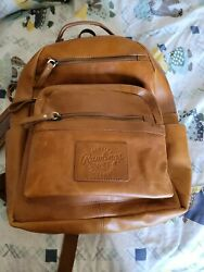 Rawlings Leather Backpack with Laptop Slot $119.00