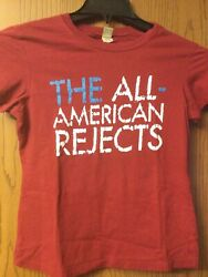 The All American Rejects - Red Shirt - Ladies Cut. M.
