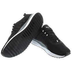 Puma Men#x27;s Pacer Net Cage Athletic Sneaker Softfoam Shoes Black or Blue New