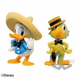 Disney Characters Fluffy Puffy Vol.2 Donald Duck Panchito Figure Set Anime