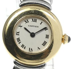 Collize Bell Epoch 18k Yellow Gold Ivory Dial Quartz Ladies Watch_578780