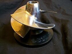 Solas Chrome Ship Boat Propelleradvertising Paperweightpoint Of Sale Display