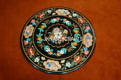 36 Marble Patio Coffee Table Top Inlay Marquetry Mosaic Home Decor Gift