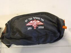 Genuine Idf Israel Army Map Case Pouch Holder - With Paratrooper Insignia