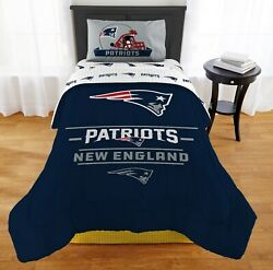 New England Patriots Monument Twin Or Xl Comforter Set