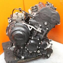 13-16 Triumph Daytona 675 Engine Motor Runs Great 30 Day Warranty 9k Miles