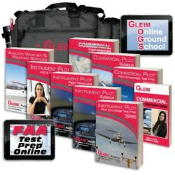 Gleim I/c Combo Deluxe Kit W/ Audio Download Free Shipping Newest Edition