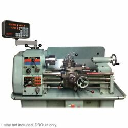 2 Axis Colchester Bantam Lathe Dro Kit - Magnetic Encoders Lathe Not Included