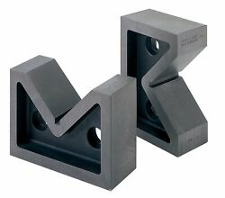 Moore And Wright 63mm 2.48 Standard Pair Vee Blocks Precision 200 Series Mw211