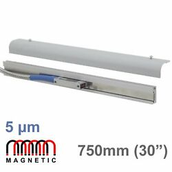 750mm 30 Magnetic Linear Scale Digital Readout Encoder Mag Dro Lathe Mill M-dro