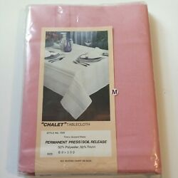 Jacquard Chalet Tablecloth 60 X 120 Rectangle Polyester/rayon Table Cloth Cover