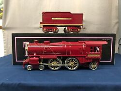 Mth Ives Repro 4-4-2 Red Contemporary 1134 Steam Engine 10-1143-1 Protosound 2